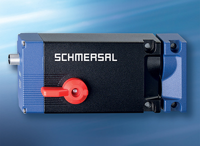 Compact shape, very high clamping force, bistable principle of operation and an electro-motorised locking bolt: The new fail-safe AZM400 solenoid interlock from Schmersal
